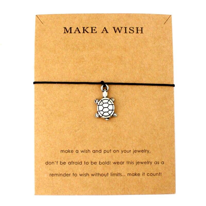 Sea Turtles Tortoise Animal Ocean Waves Beach Charms Adjustable Bracelets Women Men Love Best Friends Fashion Jewelry Gift