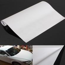 150×30 cm Universale di Ceramica Bianco Raso Opaco Autoadesivo Pellicola Dell'involucro Dell'automobile Del Vinile Sticker FAI DA TE Segno Appiccicoso Auto stile Esterno