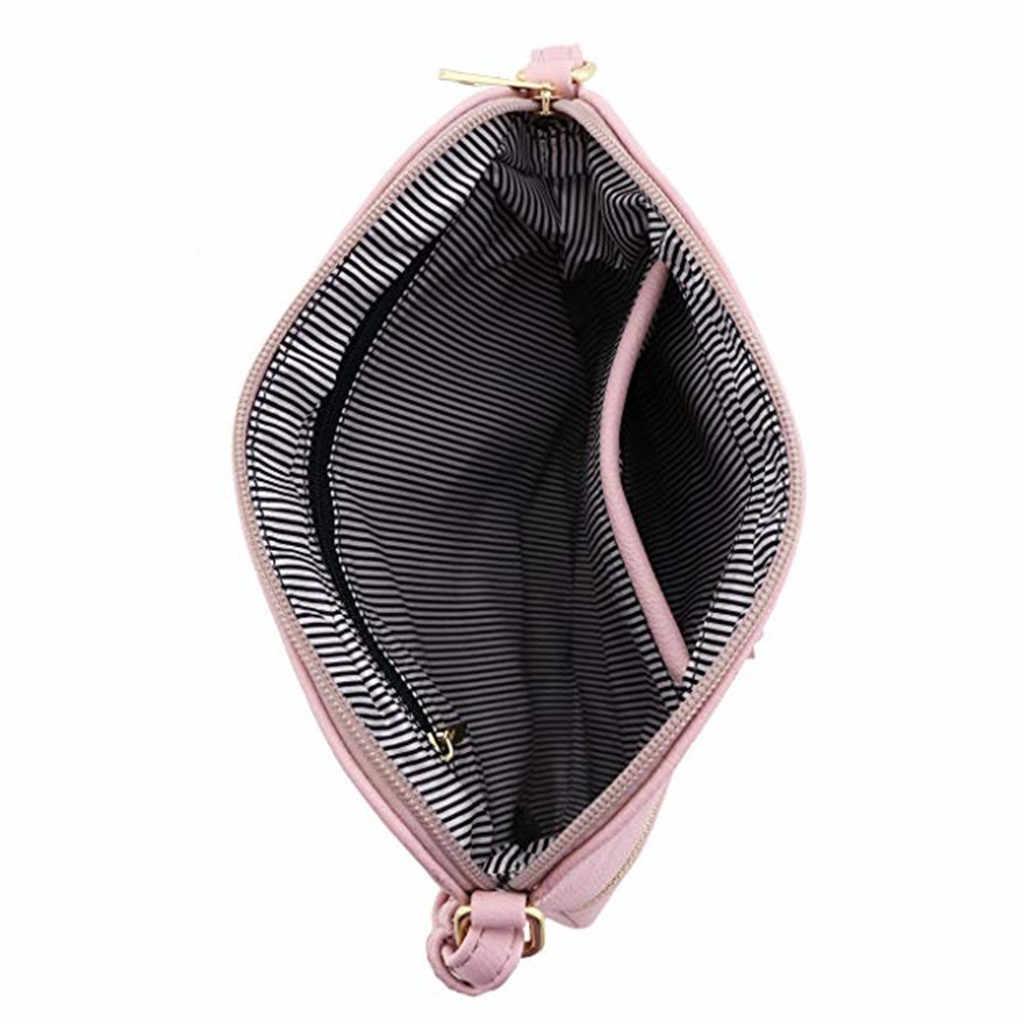 Mulheres bolsas de ombro de couro borla crossbody hit cor saco do mensageiro bolsas e bolsas sac principal femme torebka damska ta