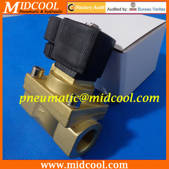 De agua valvula 5404 Series High Pressure high temperature Solenoid Water Valve HU5404-04 port 1/2 2/2 way water valve AC220V rice cooker parts steam pressure release valve