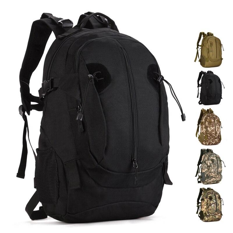 40L Sports de plein air sac à dos Molle militaire tactique sac Camping randonnée pêche voyage sac à dos pour hommes femmes Teengers