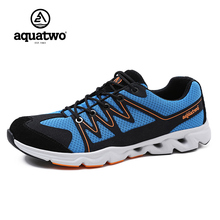 Aquatwo Mens Trail Running Sneakers Shoes For Men Runner Run Jogging Homme Outdoor Trekking Shoes Man,Ultralight & Breathable