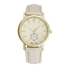 Perfect Gift New Leather Band Analog Quartz WristWatch Watches female watch Levert Dropship June01 H0