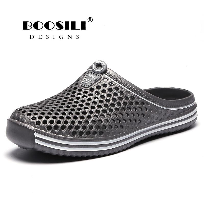 Men's Sandals Men Sandals Limited Erkek Ayakkabi 2019 New Male Eva Cave Shoes Mens Clogs Slipper High Quality Breathable Lightweight