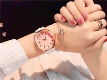 Casual Women Watches Simple Stylish White Quartz Wristwatch