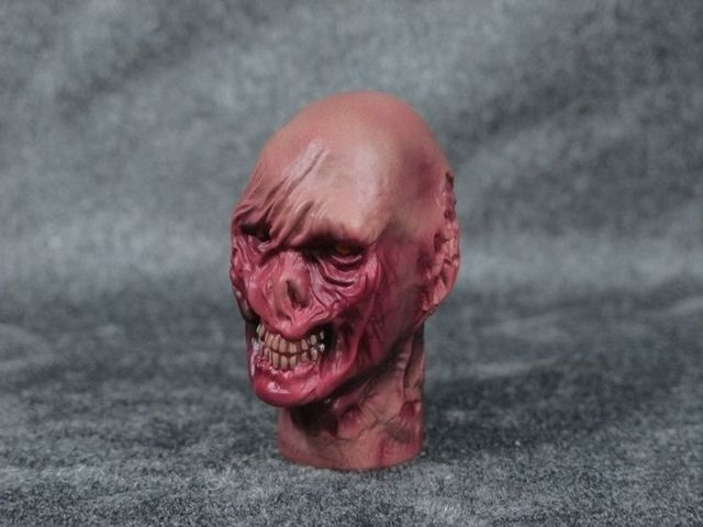 "Armoury Terror Zombie Male Head Sculpts Model Toys For 12"" Action Figure Body Accessory"