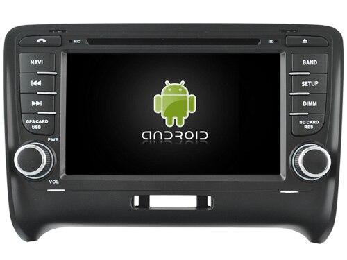 Android 6.0 Octa core 2 ГБ Оперативная память автомобиль DVD Играть GPS навигации радио стерео аудио ленты sterereo Corder головного устройства для Audi TT 2006-2014