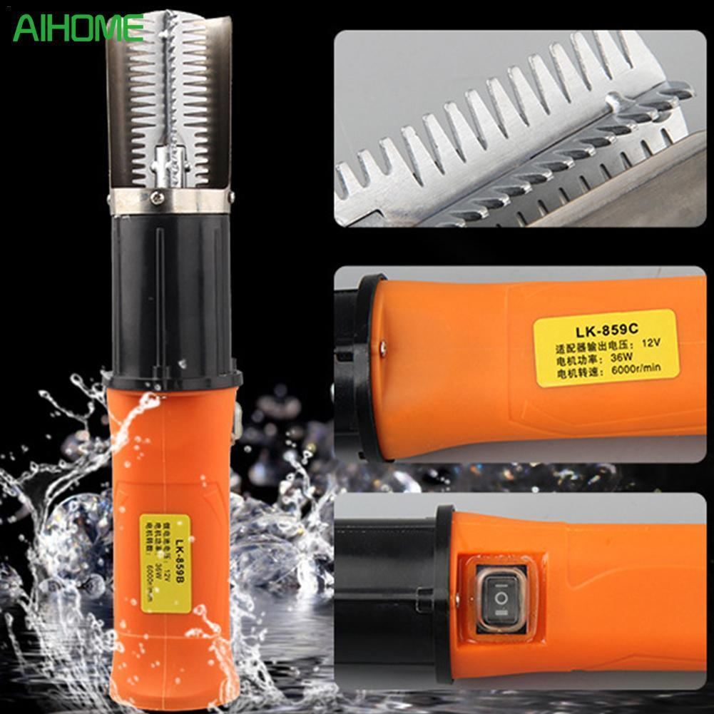 High Quality Powerful Electric Scale Remover Skin Deslagger Scraper Rechargeable Blade Tools Fishscale Utensils For Shellfi