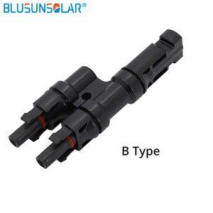Image 3 - 1 ペア送料無料 MC 4 アダプタ MC 4 2 に 1 T 分岐コネクタ 30A TUV ソーラーパネル PV DIY ケーブル