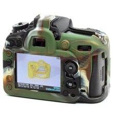 Saco da câmera agradável suave borracha de silicone pele caso capa de proteção do corpo da câmera para canon 6d alta qualidade