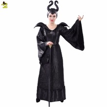 Adult's Witch Maleficent Costumes, Sexy Black Halloween Maleficent Cosplay Suit, Maleficent Fancy Dress Outfits Costume
