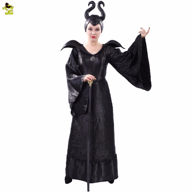 Sexy maleficent costume with wings