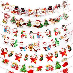 Черно-белая бейсболка для баннеров, Детские флаги, шапка, детская игрушка, вечерние шапки с изображением снеговика, Санта-Клауса