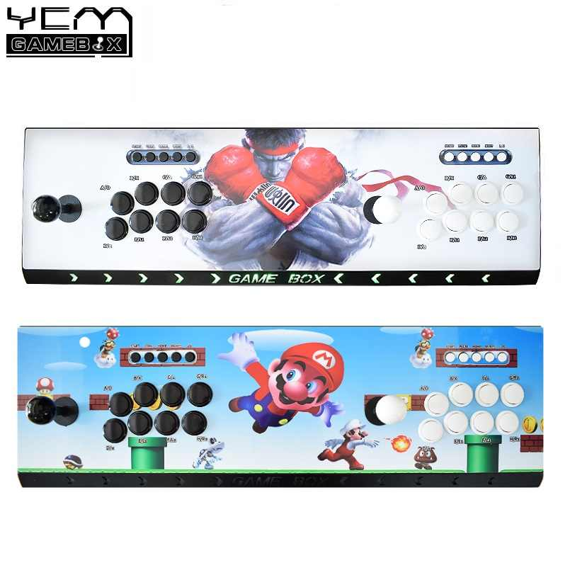 10K Games Installed Recalbox Arcade Console Raspberry Pi 3B Model Newest No  Delay Joystick Buttons Video Game Arcade Machine