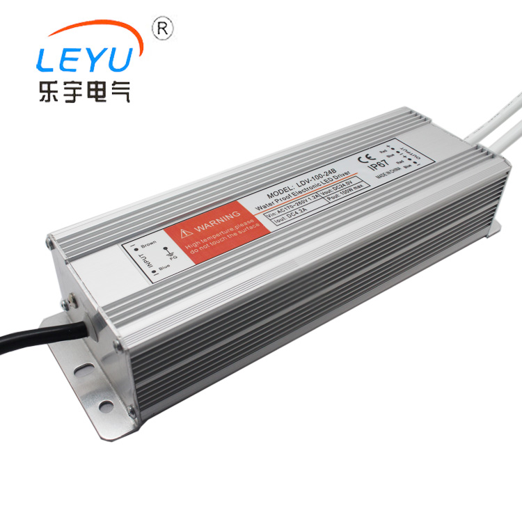 цена на Waterproof power supply LDV-100-24 100W 24V AC to DC single output switching power supply