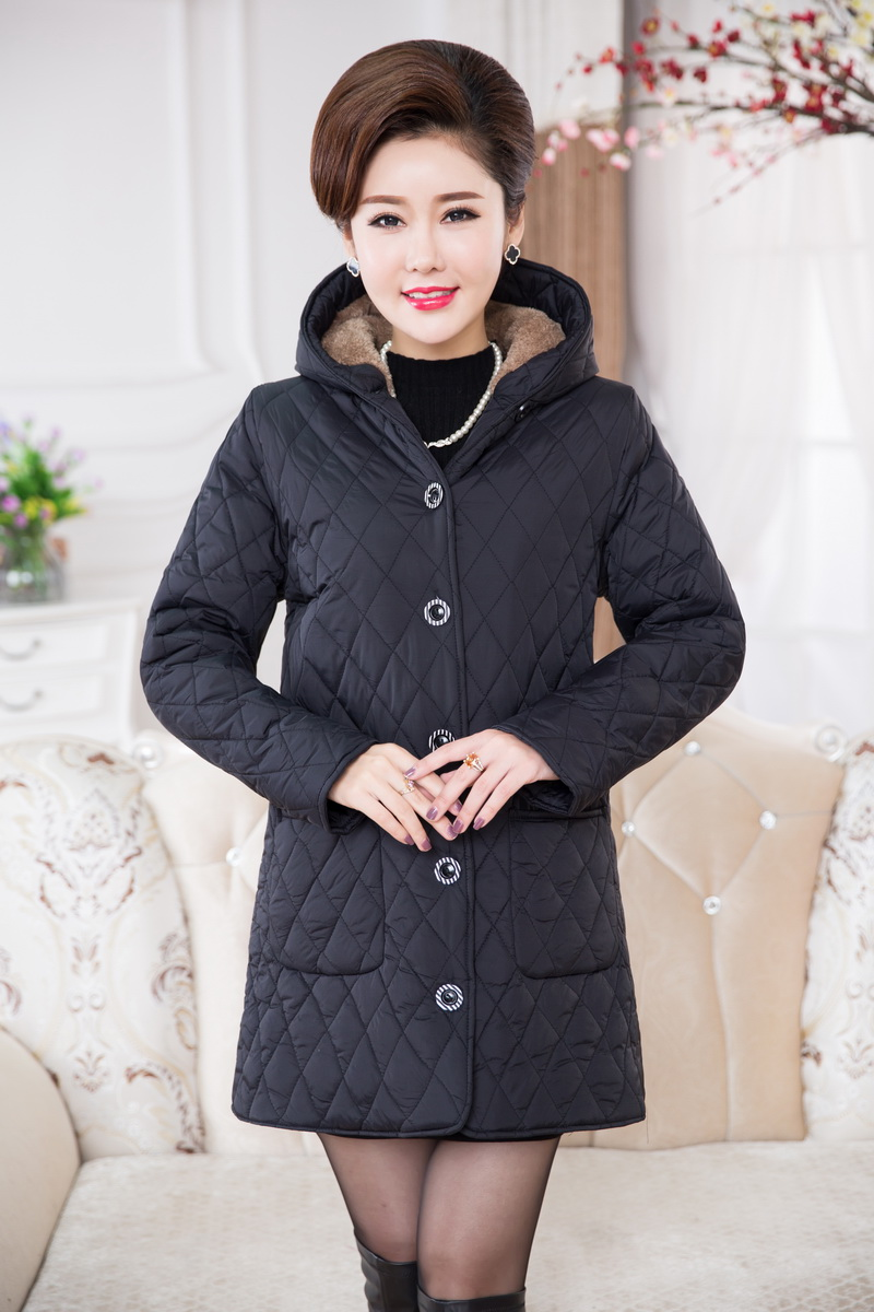 Coat Winter Women Loose Plus Size Padded jacket Warm Parkas padded Thickening Outerwear XL to 6XL COAT