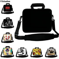 Viviration Fashion Handbag Black Computer Laptop Notebook Bag 15 13 12 10 17 14 Casual Bolsas