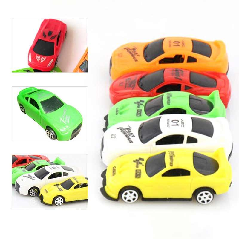 1pcs Mini Racing Vehicle Mini Pull Back plastic Car Model Kids Children Gift Toy