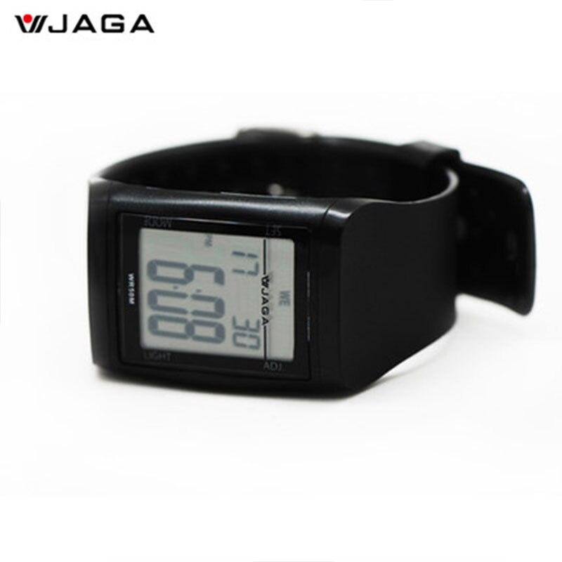 JAGA ժամացույցներ անջրանցիկ LED - Տղամարդկանց ժամացույցներ - Լուսանկար 5
