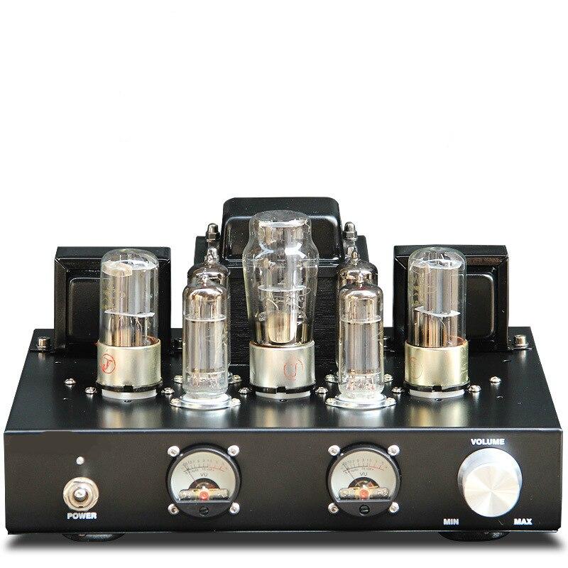 6P1 Vide & Valve Tube Audio Amplificateur Classe Un Single-Ended Puissance Amp 6.8 w * 2 antique classe HIFI amplificateur qualité sonore superbe
