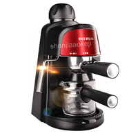 Household Semi Automatic Italian American Coffee Machine Commercial 5bar Pressure Steam extraction Coffee Machines 220v 800w 1pc