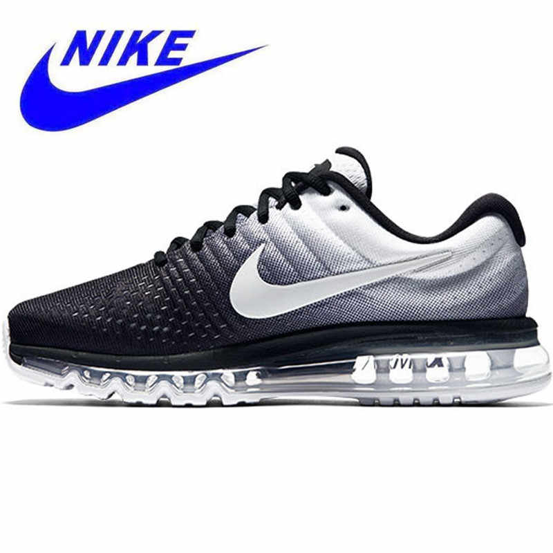 292c370a3 Original Nike Air Max 2017 Breathable Men s New Arrival Official Sports  Sneakers Running Shoes size7-