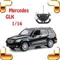 Новый Год Подарок Mercedes GLK 1/14 RC ВНЕДОРОЖНИК Дистанционного Управления автомобиль Большой Грузовик Off Road Drift Модель Jeep Игрушки Коллекция настоящее