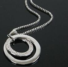 Best Long Chain Silver Plated Chain Necklace Cheap