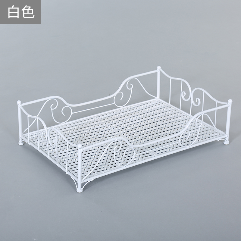 high quality Pet supplies iron pet bed 4 Seasons Universal Strong load bearing pet house 5 color Spray paint S/L/M