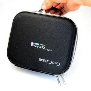 Image 5 - Lbkafa eva portátil bolsa de viagem armazenamento caso saco protetor para gopro hero 9 8 7 6 5 4 sjcam sj4000 sj6 yi câmera acessórios