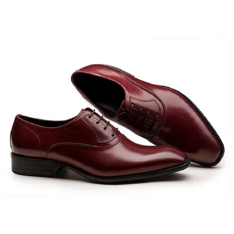 Appartements Tenis Mariage De Rouge Formelle Noir Carré Adulto Bout D'affaires Chaussures Hommes Masculino vin Oxford Northmarch Lacent Noir Robe gOnvq7wBS