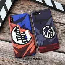 Dragon Ball goku soft case for iphone X XS MAX XR 8 7 6 6S plus matte phone cover silicon coque Cartoon Saiyan fundas capa 8plus