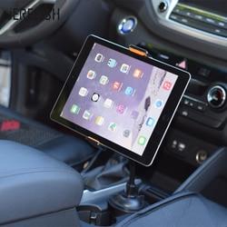 Tablet Yang Universal Mobil Ponsel Pemegang untuk iPad untuk Samsung Galaxy 7-10 Inch Tablet Adjustable Mobil Cangkir Pemegang Mount dengan Klip Kabel
