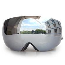 Double Layers UV400 Anti-Fog Big Ski Mask Glasses Skiing Men Women Snow Snowboard Goggles Motorcycle Face Shield Mask Balaclava