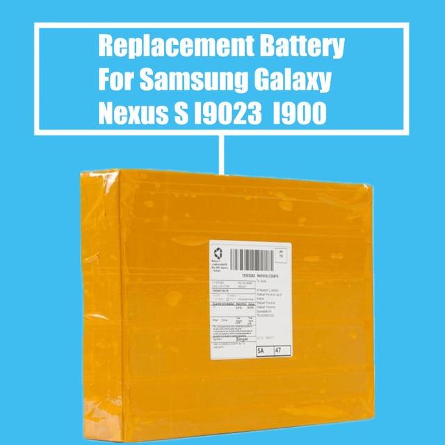 10Pcs/Pack Replacement Battery 1500mah For Samsung Galaxy Nexus S I9020 T939 I900 I7500 I8000 M900 I9023 High Quality