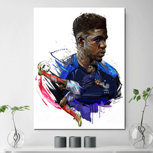 Spanish Premier League Star Samuel Umtiti Canvas Painting Print Wall Picture Living Room Home Decoration Modern Art Poster