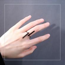 Timlee R001 Новые оригинальные простые геометрические кольца на палец, Индивидуальные ювелирные изделия оптом