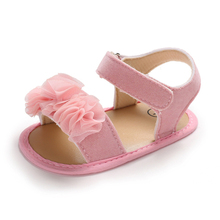 Summer Baby Shoes Flowers Newborn Girls Toddler 2019 New Fashion Cute Princess Infant Non-Slip First Walkers