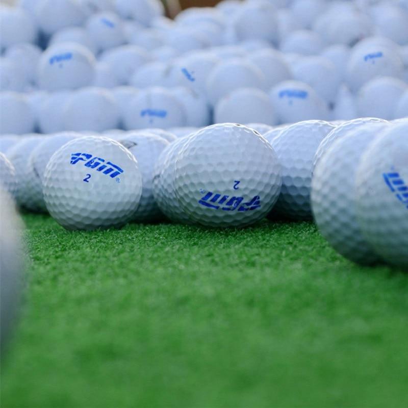 PGM Practice Ball Golf Double Practice Ball Blank Practice Golf Balls 70 Hardness Mini Golf Balls 5pcs/10pcs/20pcs