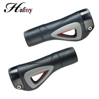Bicycle Grip Aluminum Rubber Horn Grips End MTB Road Bike Handlebar Grips Soft Bicycle Handle Bar End Caps Lock on Cycling Grips