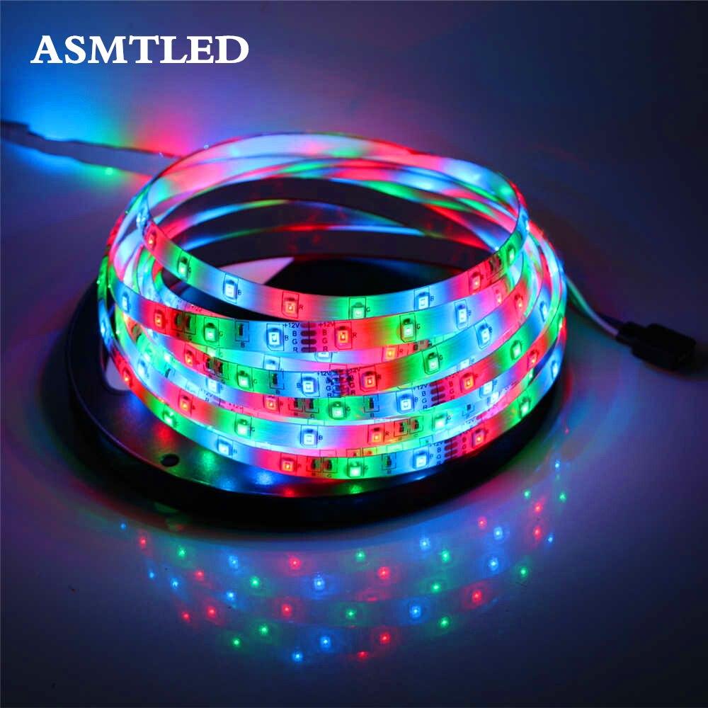 asmtled smd3528 led strip 60leds m 1 2 3 4 5m led tape ribbon light 12v fita diode flexible led. Black Bedroom Furniture Sets. Home Design Ideas