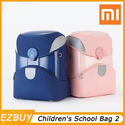 Xiaomi Youpin Children's School Bag 2 student backpack burden 3M reflective material night line children's bag Smart