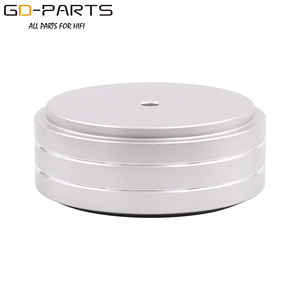 Image 3 - 58x22mm Solid Full Aluminum Speaker AMP Turntable Recorder Isolation Foot Spike Floor Base Pad Chassis Feet Stand Cone Hifi DIY