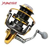 New Long Shot Large Gapless fishing reels Distant wheels fishing reel casting reel CNC rocker series Spinning wheel TF Yumoshi