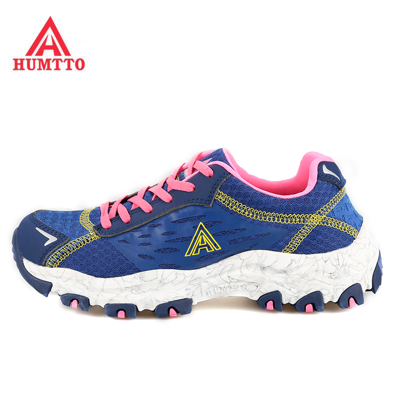 HUMTTO Women's Outdoor Trekking Hiking Sneakers Shoes For Women Sport Climbing Mountain Trekking Trail Shoes Woman Sneaker 2017 womens sports summer outdoor hiking trekking aqua shoes sandals sneakers for women sport climbing mountain shoes woman