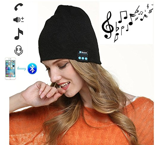 Wireless Bluetooth headphone Warm Phone Music hat Smart Caps Headset Earphone Winter Hat with Mic Speaker for Outdoor Sports wireless bluetooth headphones music hat smart caps headset earphone warm beanies winter hat with speaker mic for sports