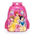 16 Polegada 3D Princesa Mochila Escolar Para Meninas Impressão Mochila Das Crianças Dos Miúdos Dos Desenhos Animados Sacos de Escola Meninas Mochila Escolar Bookbag