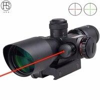 戦術2.5-10 × 40 r/g照明光学ライフルスコープサイト+赤レーザーサイト用ライフル視