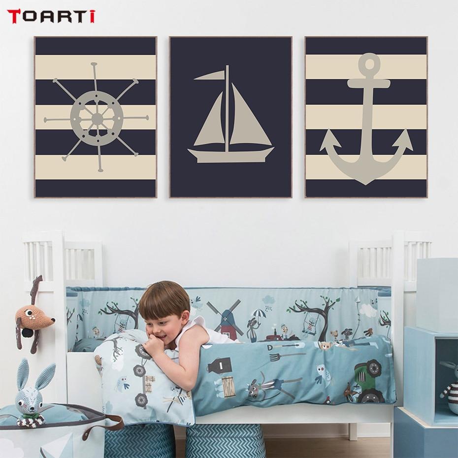 Постеры для детской корабли