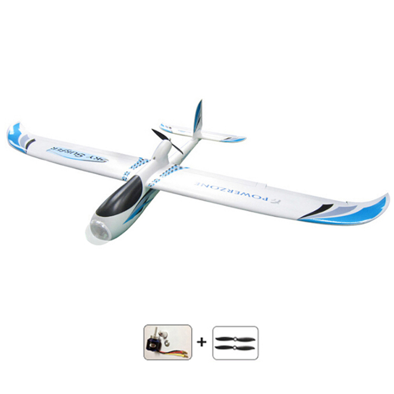 new arrival 2000mm Skysurfer remote control glider airplane aeromodelismo RC plane hobby aircraft FPV frame with brushless motor fpv x uav talon uav 1720mm fpv plane gray white version flying glider epo modle rc model airplane